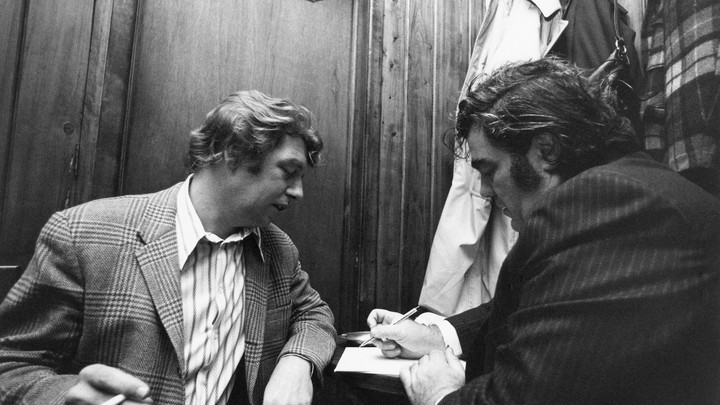 Pete Hamill and Jimmy Breslin
