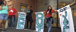 Protests against the Maricopa County Jail's cooperation with ICE.