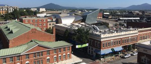 Downtown Roanoke is pictured.