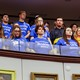 Marjory Stoneman Douglas High School students at the Florida Capitol