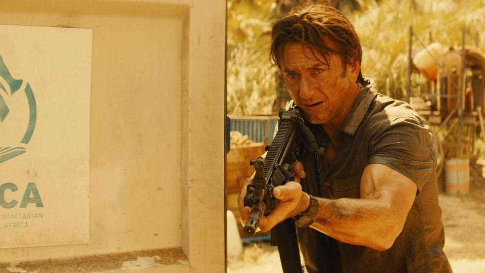 """Sean Penn in """"The Gunman"""""""