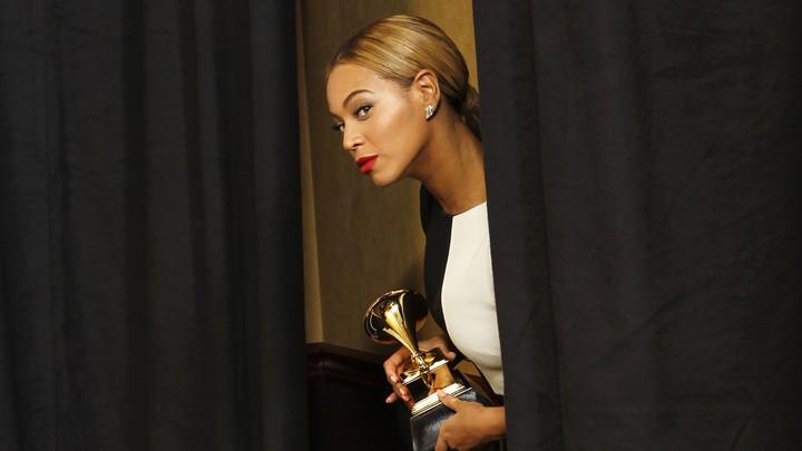 Beyoncé at the 2013 Grammys