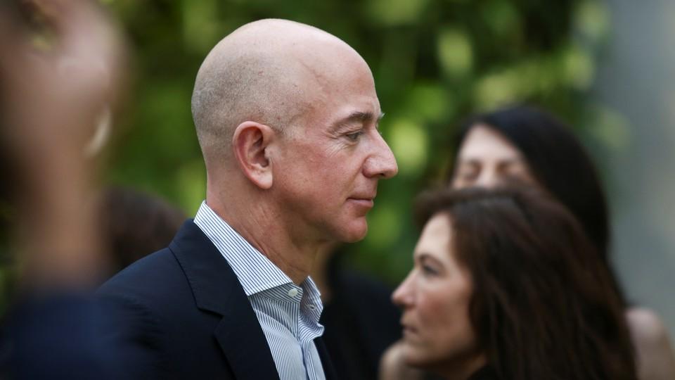 A headshot of Jeff Bezos