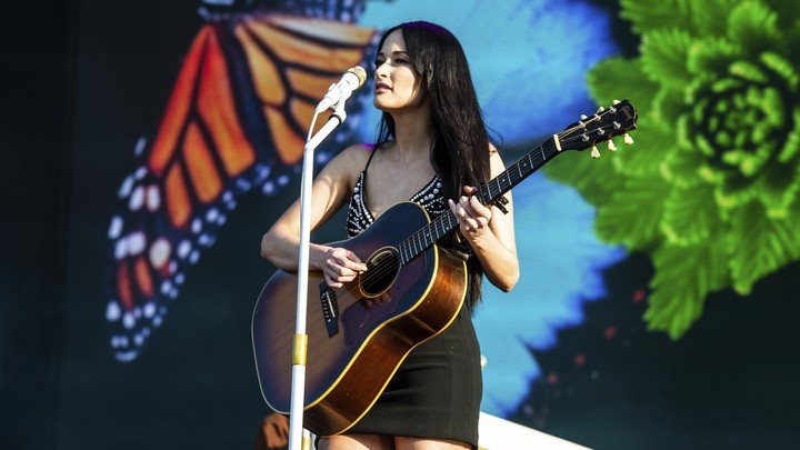 Kacey Musgraves performs on day four of Lollapalooza.