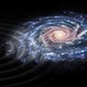 An artist's impression of a perturbation of stars in the Milky Waygalaxy