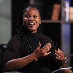 Majora Carter speaking at the Milken Institute Global Conference in 2010