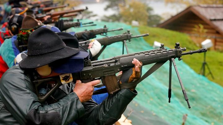 Like the U.S., Switzerland Has Liberal Gun Laws - The Atlantic