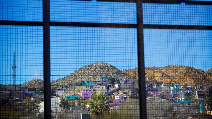 A view across the border into Ciudad Juarez, Mexico