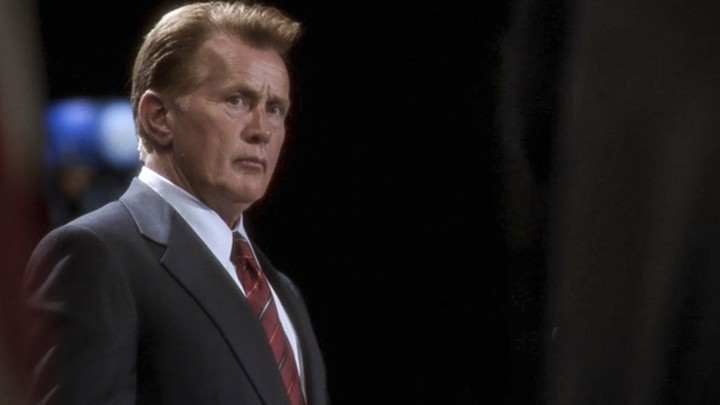President Bartlet's game face