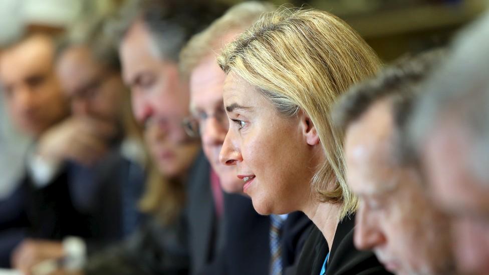 European Union foreign-policy chief Federica Mogherini
