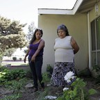 a photo of homes in Fresno, California.