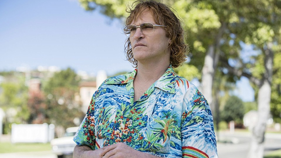 Joaquin Phoenix in 'Don't Worry, He Won't Get Far on Foot'