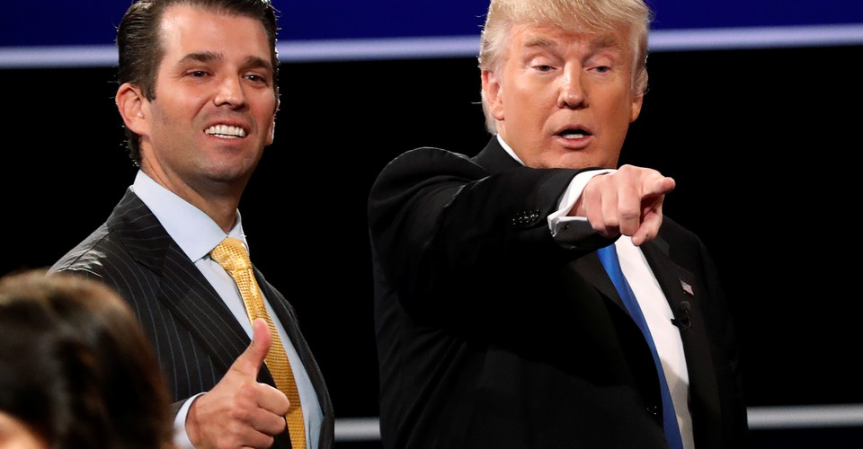 Thanks, Dad: Trump Says His Son Don Jr 'Wouldn't Have a Chance' at Winning New York Mayor's Race, Says the City Needs a 'Young Version of Rudy Giuliani'
