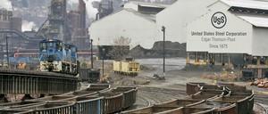 The U.S. Steel Edgar Thomson steel plant