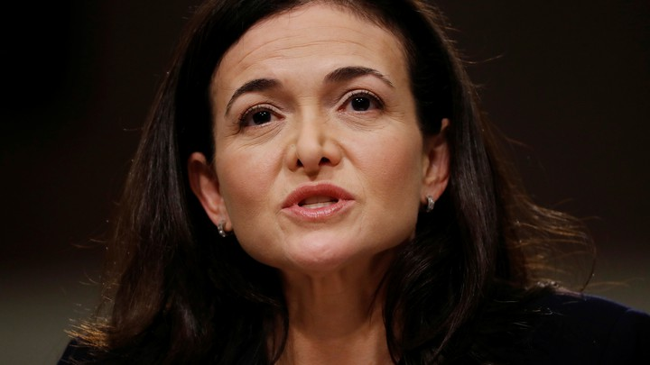 Sheryl Sandberg speaking