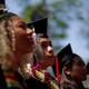 Graduating students listen during the 365th Commencement Exercises at Harvard University on May 26, 2016.