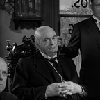Lionel Barrymore as Mr. Potter in Frank Capra's 'It's a Wonderful Life' (1946)
