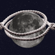 An illustration of the moon being lassoed