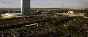 Brasilia, inaugurated in 1960, is an imposing city designed to be traversed by car.