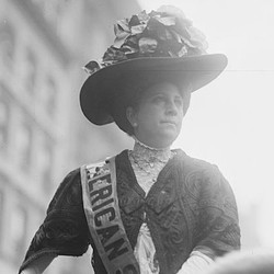 The suffragette Sophia Loebinger