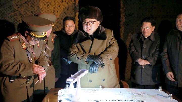 KCNA via Reuters