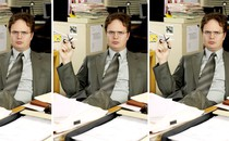 """Picture of Dwight Shrute in """"The Office"""""""