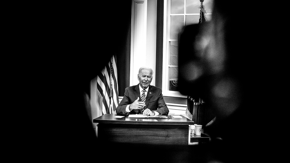 President Joe Biden faces concerns from Democrats that they may lose in upcoming elections.