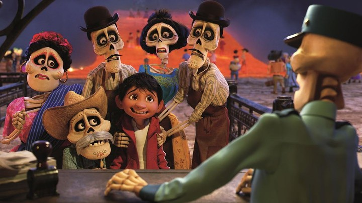 A still from Pixar's new film 'Coco'