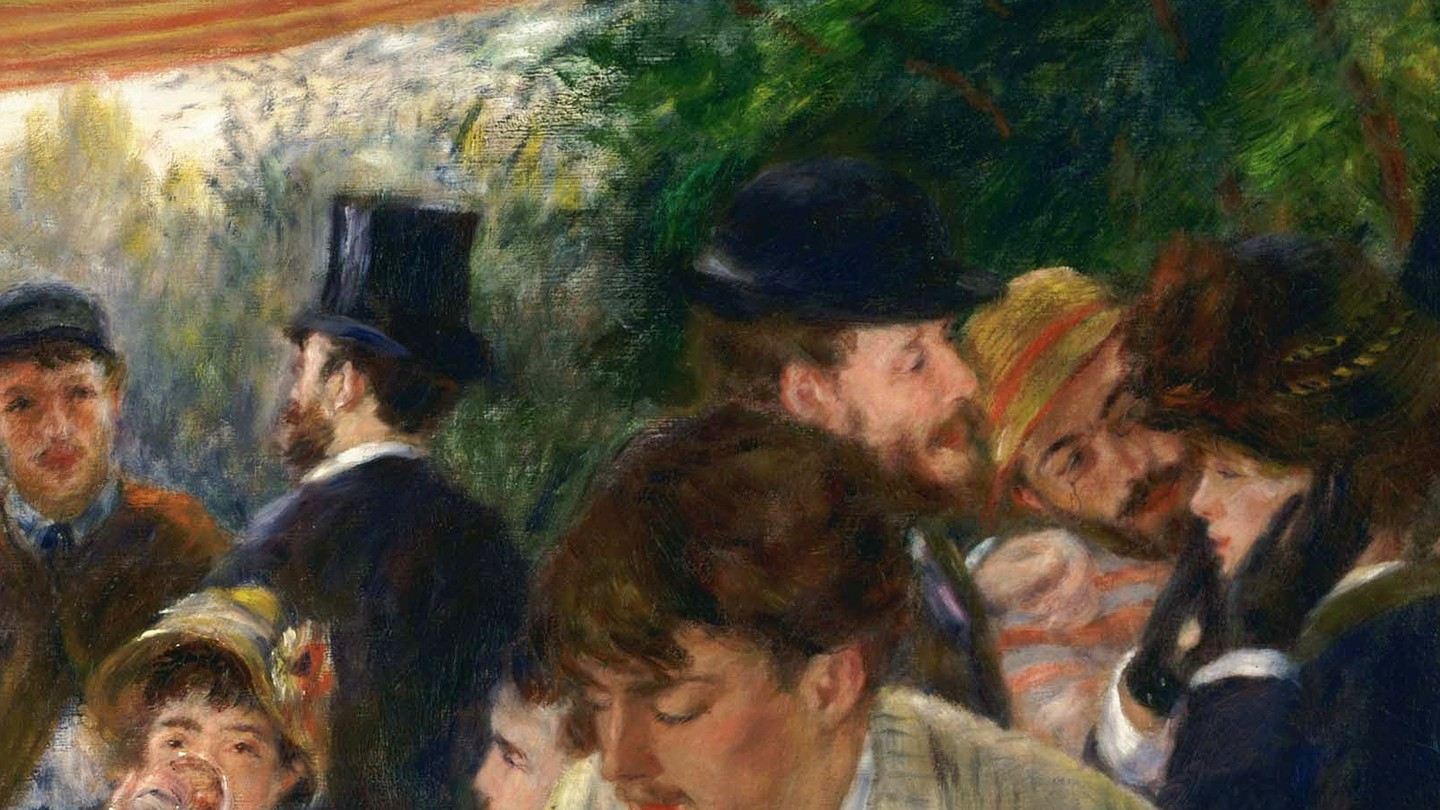 """Pierre-Auguste Renoir's """"Luncheon of the Boating Party,"""" 1880-1881"""