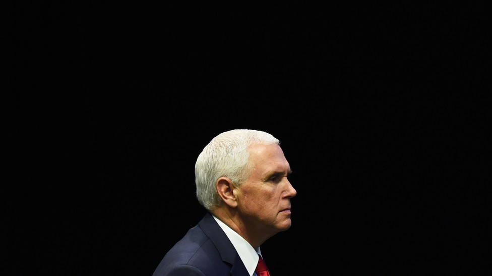 Mike Pence in profile
