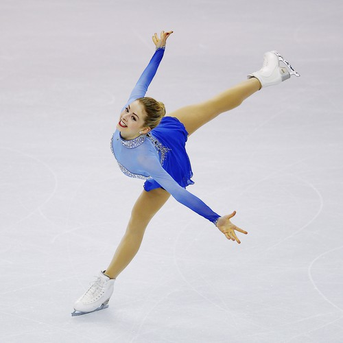 A Gif Guide To Figure Skaters Jumps At The Olympics The Atlantic