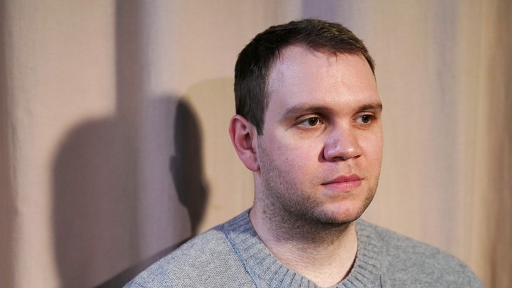 Matthew Hedges poses for a photo in New York in January.