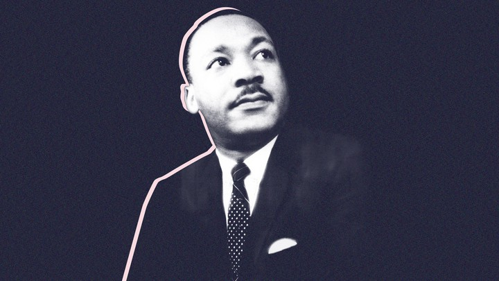 A photo illustration of Martin Luther King