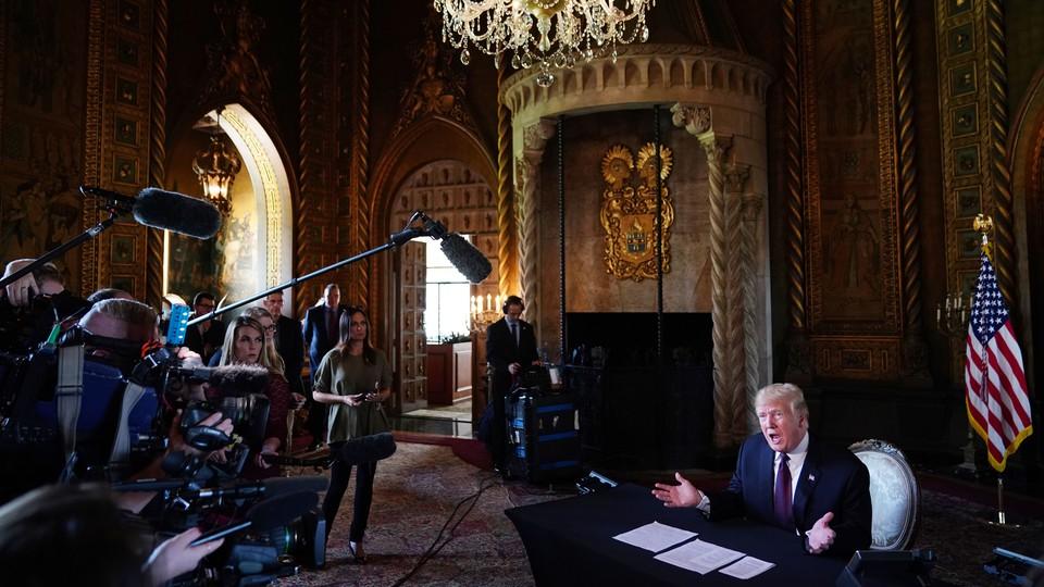 Donald Trump at Mar-a-Lago