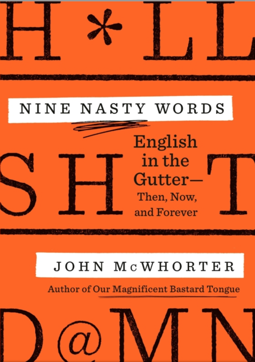 Book cover of Nine Nasty words.