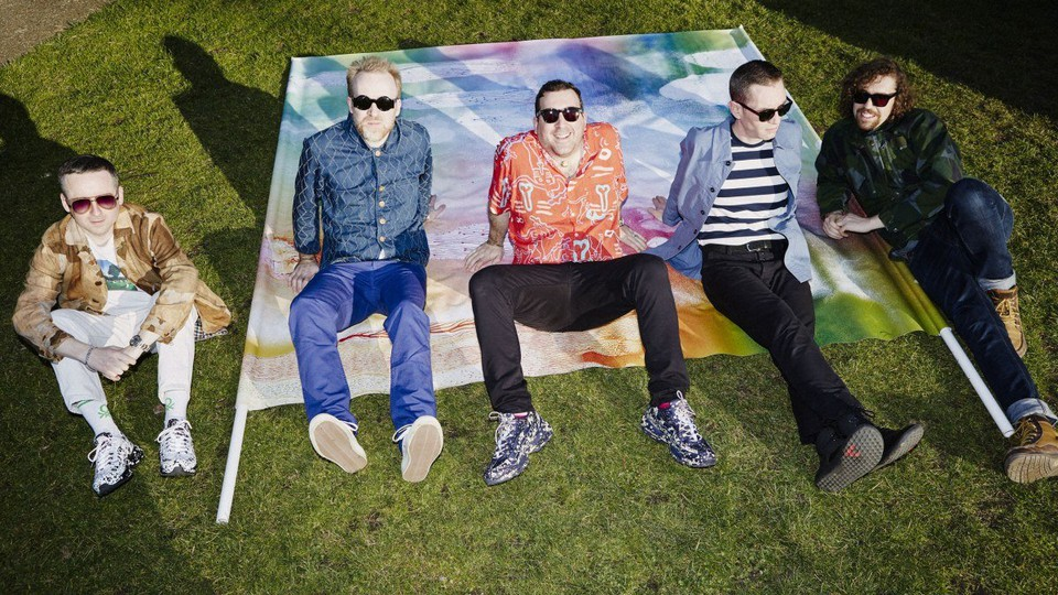 A press image of Hot Chip