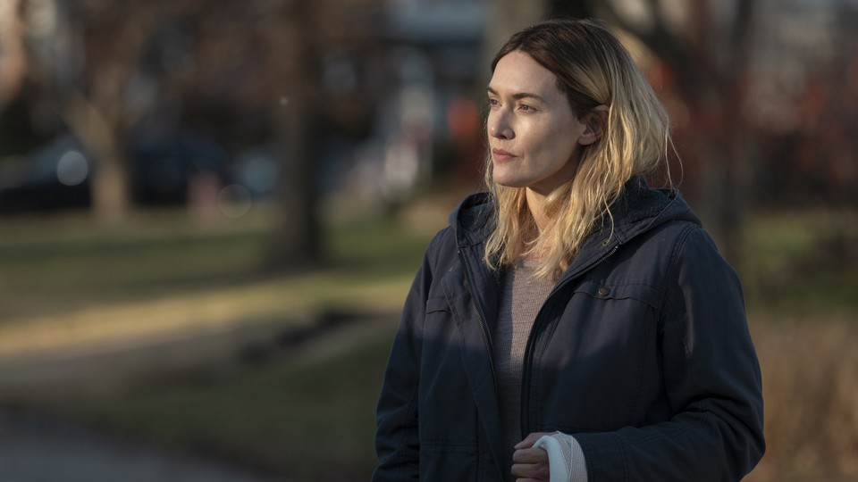Mare (played by Kate Winslet) in 'Mare of Easttown'