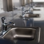 A row of sinks at Tacoma's Stability Site