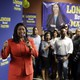 London Breed at a campaign event