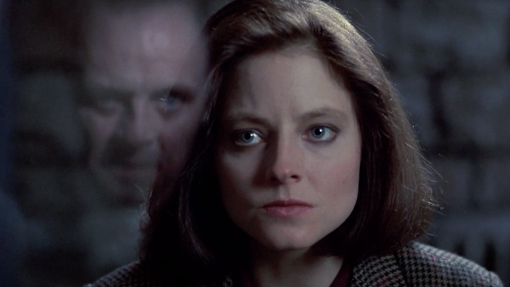 Clarice Starling and Hannibal Lecter in 'The Silence of the Lambs'