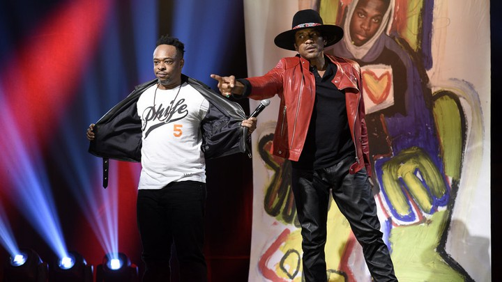 A Tribe Called Quest performs on Saturday Night Life