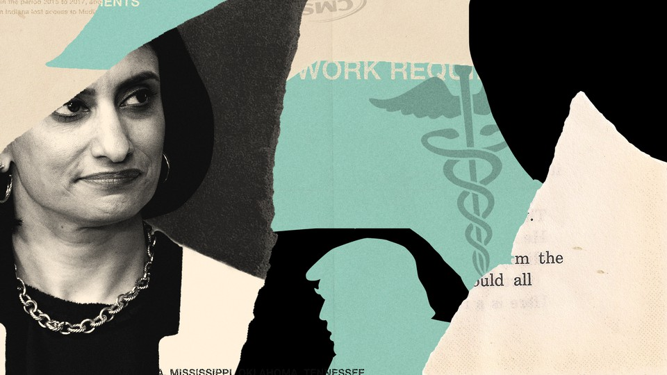 The Centers for Medicare and Medicaid Services administrator Seema Verma