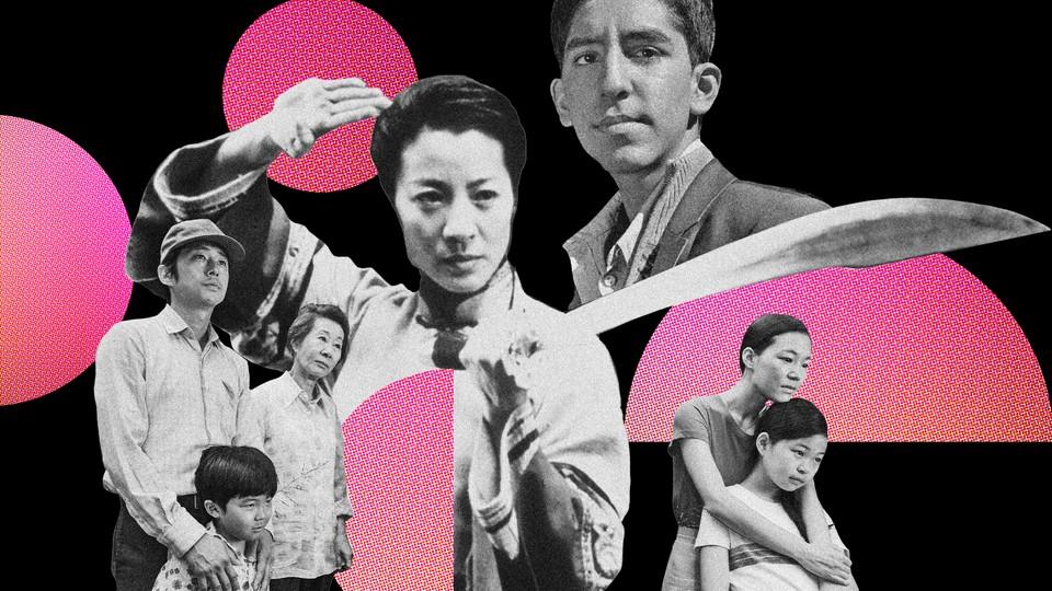 Steven Yeun, Alan Kim, Youn Yuh-jung, Yeri Han, Noel Kate Cho, Michelle Yeoh, and Dev Patel