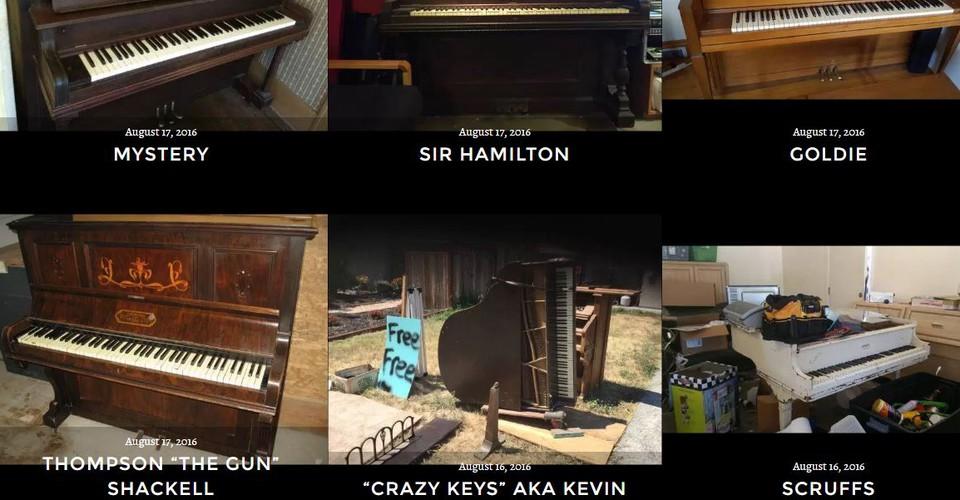 Free Craigslist Pianos in San Francisco Inspire a Drunken ...