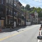 A photo of Ellicott City's Main Street