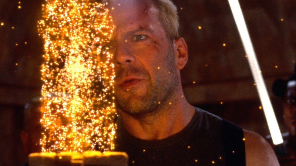 Bruce Willis, star of <i>The Fifth Element</i>