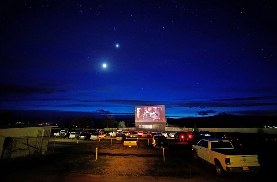 Photos A Moment For Drive In Movie Theaters The Atlantic