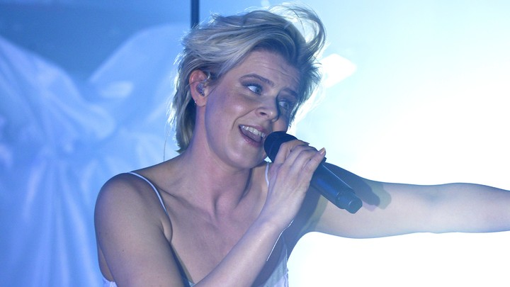 Robyn performs at the Hollywood Palladium on February 22, 2019, in Los Angeles.