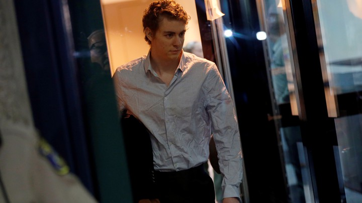 Brock Turner, the former Stanford swimmer convicted of sexually assaulting an unconscious woman, leaves the Santa Clara County Jail on September 2.