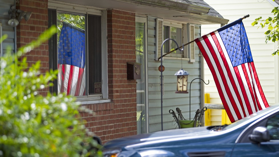The house of Harold Thomas Martin, a federal government contractor accused of stealing highly classified information, is seen in Glen Burnie, Maryland, on October 5, 2016.
